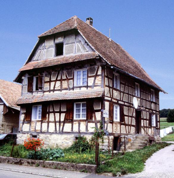 La maison du sundgau - Maison a colombage alsacienne ...