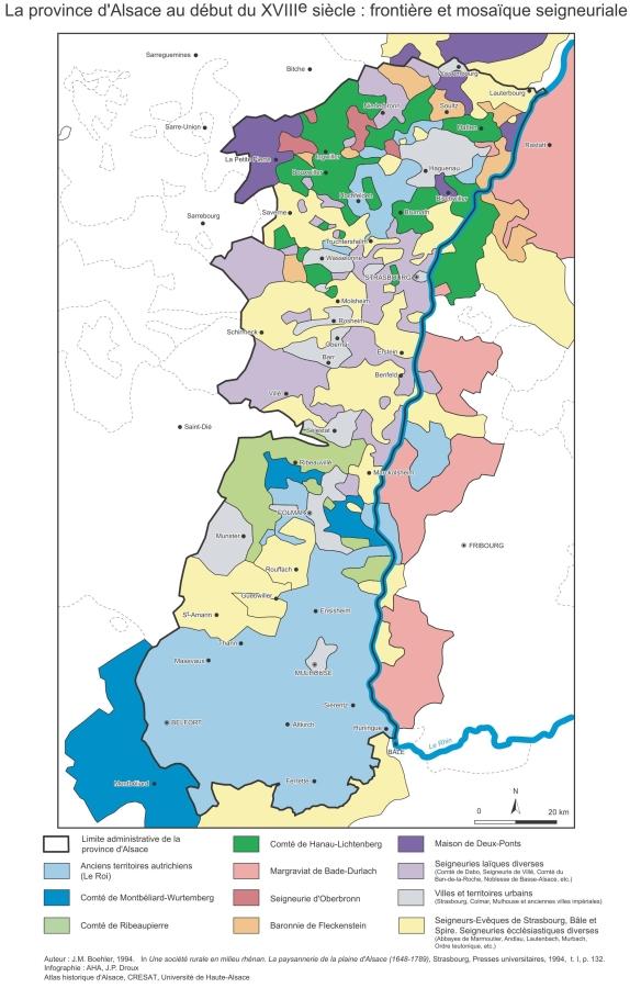 L'Alsace par les cartesGéographie politique et administrative