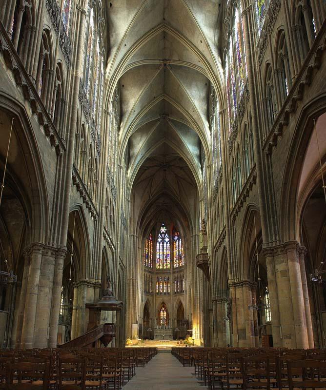 Caract ristiques g n rales de l 39 art gothique en alsace for Maison d en france metz