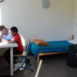 Une chambre à l'internat du lycée Deck