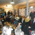 Visite du centre de documentation de l'ENA
